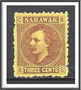 Sarawak #2 Sir Charles Brooke NG