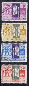 Congo, Democratic Republic Scott #B48-B51 Used