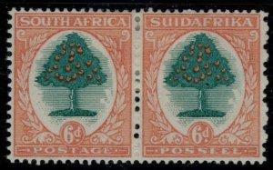 South Africa #42* pair  CV $65.00