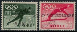 Norway #B50-1  CV $8.00  1952 Winter Olympics