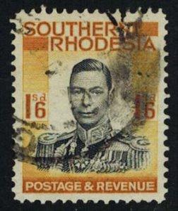 Southern Rhodesia Scott 51 Used.
