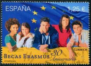 HERRICKSTAMP NEW ISSUES SPAIN Sc.# 4223 Erasmus Grants