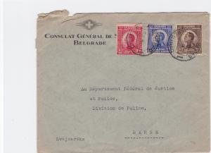 Serbia 1920s   stamps cover  R20281