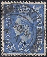 Great Britain #262 2 1/2P King George Stamp used EGRADED SUPERB 98 XXF