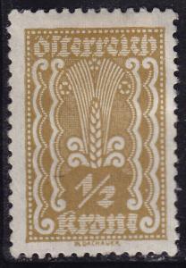 Austria 250 Symbols of Agriculture 1922