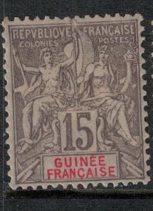 French Guinea 1900 SC 8 Mint SCV $100.00