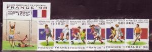 Togo 1713-19 Mint NH Soccer Stamps