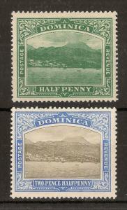 Dominica 1907-20 Roseau Mint