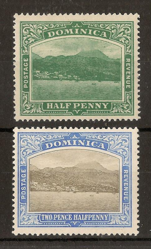 Dominica 1907-20 Roseau Mint