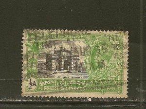 India 142 King George V  Used