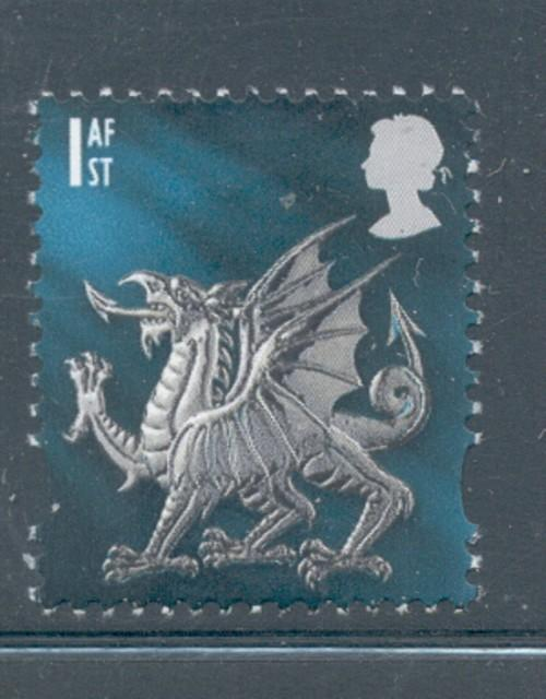 Great Britain Wales Sc 14 1999 1st Dragon stamp mint NH