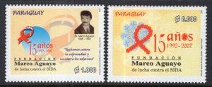 Paraguay 2844-2845 MNH VF