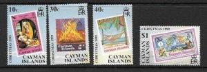 CAYMAN ISLANDS SG904/7 1999 CHRISTMAS  MNH
