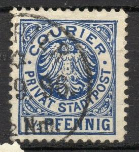 Germany  classic 1860-90s used Private or  Local Post Item, Zwickau 317979