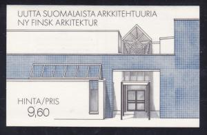 Finland 737 MNH 1986 National Construction Year Complete Booklet (2 Scans)