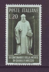 J21567 Jlstamps 1950 italy set of 1 mh #541 music