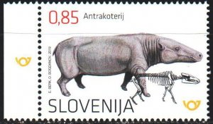 Slovenia. 2019. 1356. Dinosaurs. MNH.