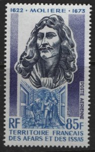 AFARS & ISSAS C90  MINT HINGED MOLIERE,   PLAYWRIGHT