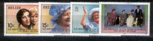 757-760 MINT HINGED QUEEN MOTHER, BIRTHDAY