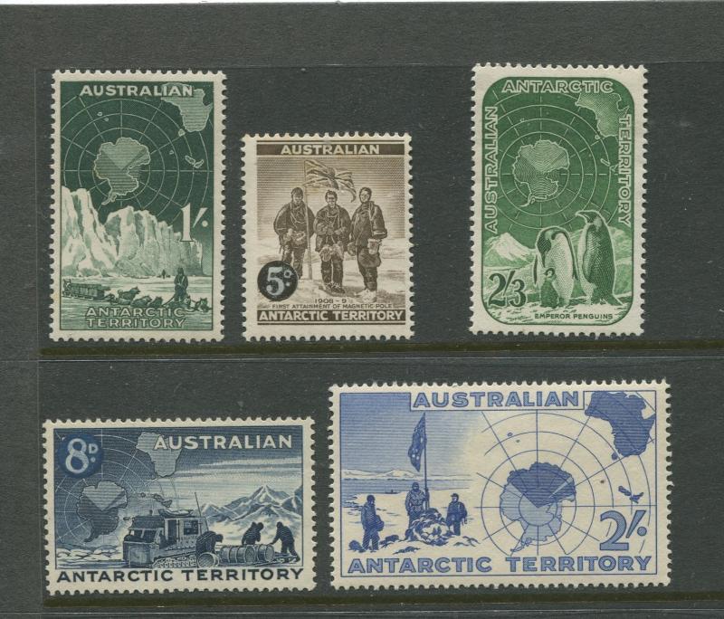 Antarctic Terr. #L1-L5  MNH  1957  Set of 5 Stamps