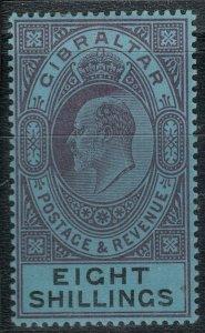 Gibraltar SC 47 Mint 1903 SCV$ 170.00