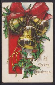 US Sc WX16 Christmas Seal on Merry Christmas color PPC