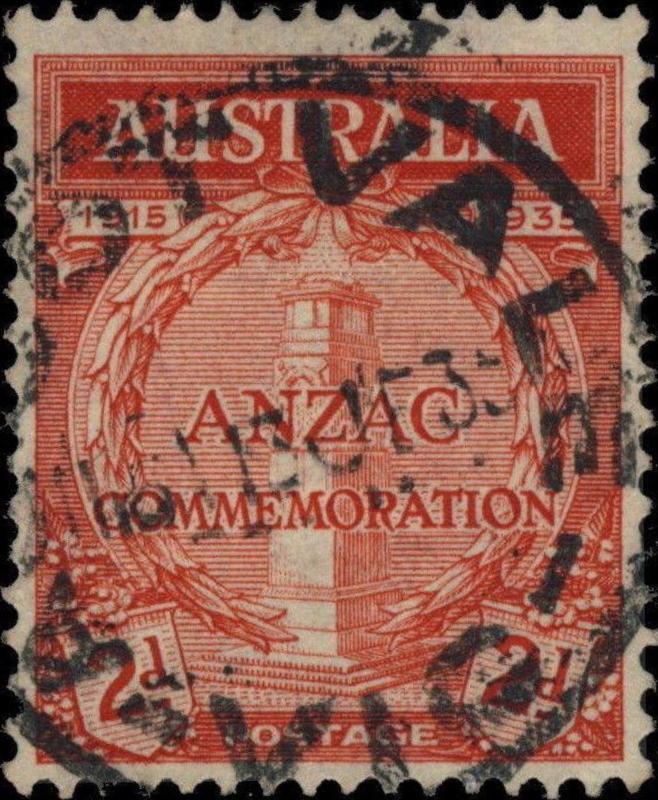 AUSTRALIA - 1935 - CDS OF ASCOT VALE (VIC) ON 2d SCARLET SG154