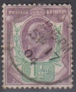 Great Britain #129 F-VF Used CV $22.50 (A6926)