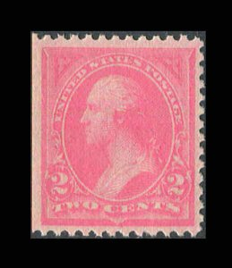 US 1894 Washington 2¢ Pink #248 Ty1VF-XF MNH  CV $90.00