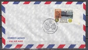 Guatemala, 06/MAR/83. Pope John Paul II Cancel on Plain cover.