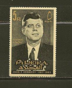 Fujeira 37 John F Kennedy 1965 MNH