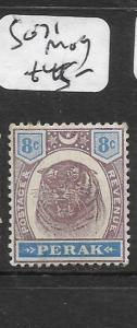 MALAYA PERAK   (P1007B)  TIGER 8C  SG 71    MOG