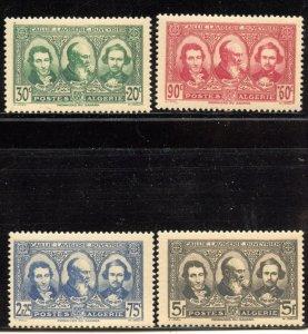 Algeria # B28-31, Mint Never Hinge. CV $ 64.80