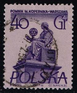Poland #672 Nicolaus Copernicus; Used (0.25)