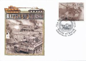 [96827] Palau 2005 World War II Battle of Kursk Special Cachet Cover