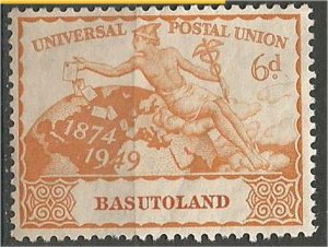 BASUTOLAND  1949 ,MNH 6p  UPU Issue  Scott #43