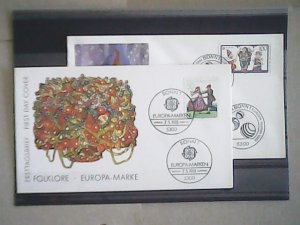 Germany Two First Day Covers