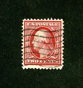 US Stamps # 358 VF neat machine cancel