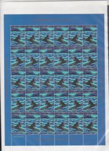 Greenland 1999 Mint Never Hinged Christmas Stamps Sheet ref R17549