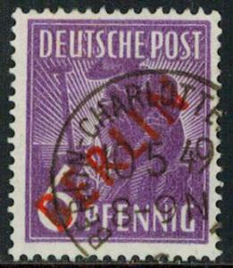 Germany Scott 9N22 Used.
