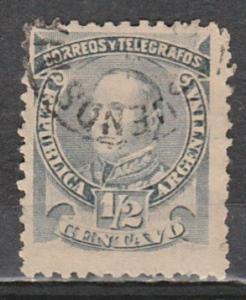 Argentina Telegraph Used