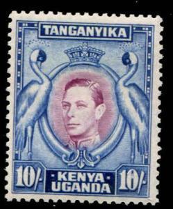 Kenya, Uganda & Tanganyika - KUT SC# 84a SG# 149 p13-1/4 MH