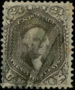 #78b GRAY, VF-XF USED CV $450.00 BP7776