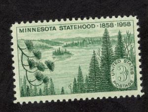 1106 Minnesota Statehood US Single Mint/nh (Free shipping offer)
