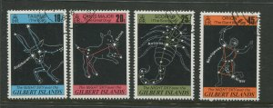 STAMP STATION PERTH Gilbert Is.#308-311 Night Sky Issue VFU 1977 CV$3.00