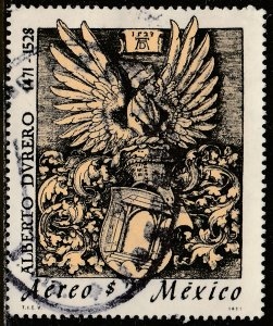 MEXICO C393, 500th Anniv birth of Albrecht Durer ENGRAVER. USED. F-VF (1280)
