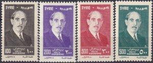 Syria #C208-11 MNH CV $15.25   (Z4698)
