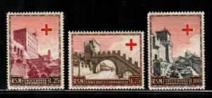 San Marino #305-307  MNH  Scott $55.00