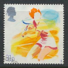 Great Britain  SG 1390 SC# 1211 Used / FU with First Day Cancel - Sports Orga...