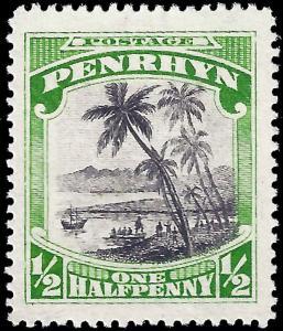 Penrhyn Island 1928 Sc 33 MH wmk